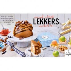 Zak van Sinterklaas taart