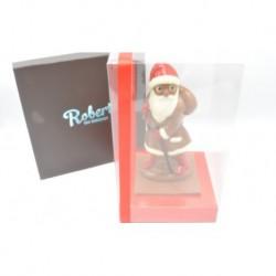 Kerstman choc. figuur klein