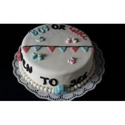 Boy - Girl taart