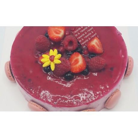 Bosvruchten dessert