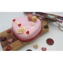 Chipolata hart taartje